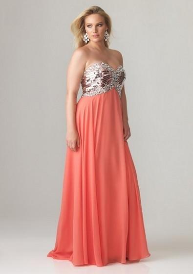 Довгі плаття на випускний 2013 для повних фото a6b344c25856f