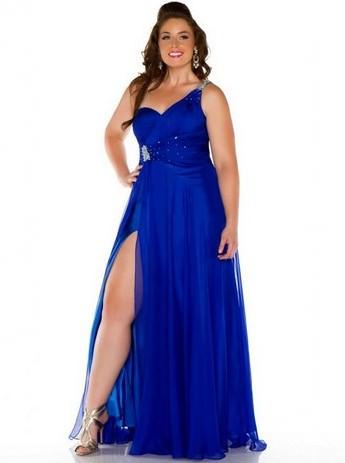 Розкішні випускні плаття для повних  6a3c115374f3d