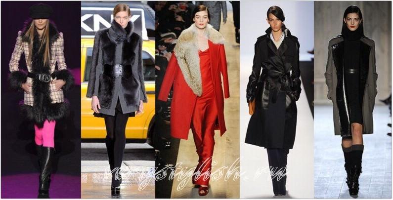Изображение Модное пальто осень зима 2012-2013 из коллекции модное