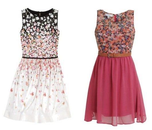 Платья красивые летние для подростков