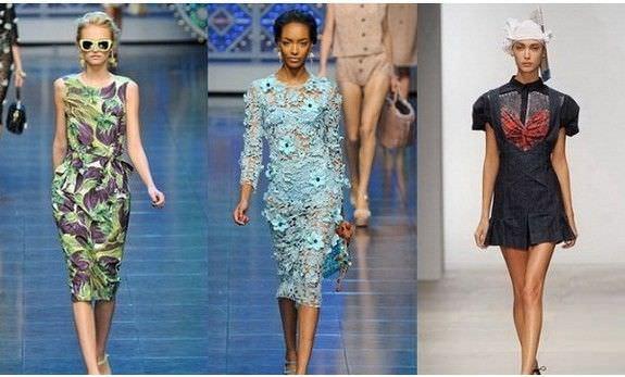 Довгі літні плаття 2012