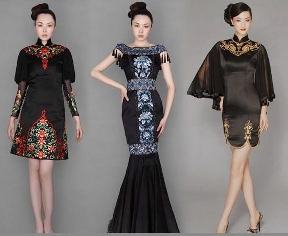 Вишиті плаття в індійському стилі