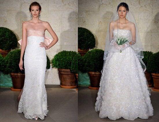 Весільне плаття від оскара де ла рента