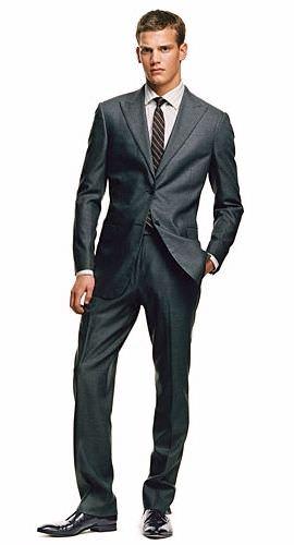 Чоловічий діловий костюм без натяку