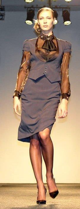 Строгий жіночий діловий костюм - dresscode успішної жінки  b6cf9a63a5889