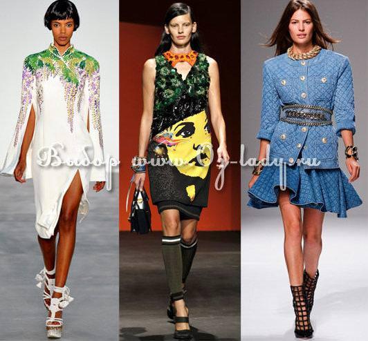 Жіноча мода і модні тенденції весна