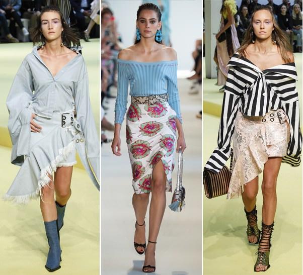 d332726ed2087f Модні тенденції весна-літо 2017: блузи з відкритими плечима в колекціях  Altuzarra і Marques