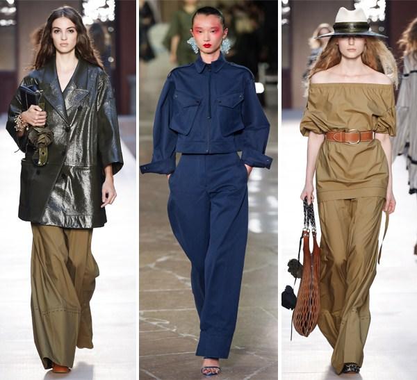 a55829129c5258 Модні широкі брюки від Sonya Rykiel і Kenzo (посередині) весна-літо 2017