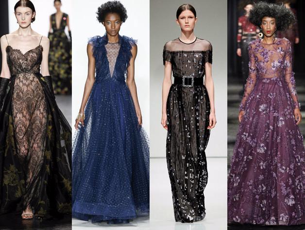 Модні вечірні плаття осінь-зима 2016-2017  689627587e4d2