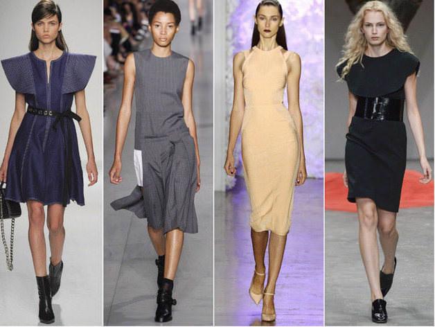 Модні ділові плаття сезону весна - літо 2016 3f997445870e6